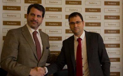 Convenio entre arcodatos y la federacion de empresas toledana (FEDETO)