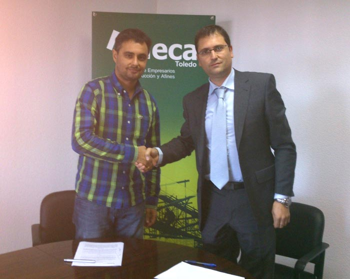 Convenio entre Arcodatos y la Agrupación de Empresarios la Construcción y Afines de la provincia de Toledo (AECA)